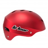 casco skate  le tour  14 vent. metalic red (l) 58 60 cms
