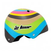 casco skate  le tour  11 vent. multicolor (m) 55 57